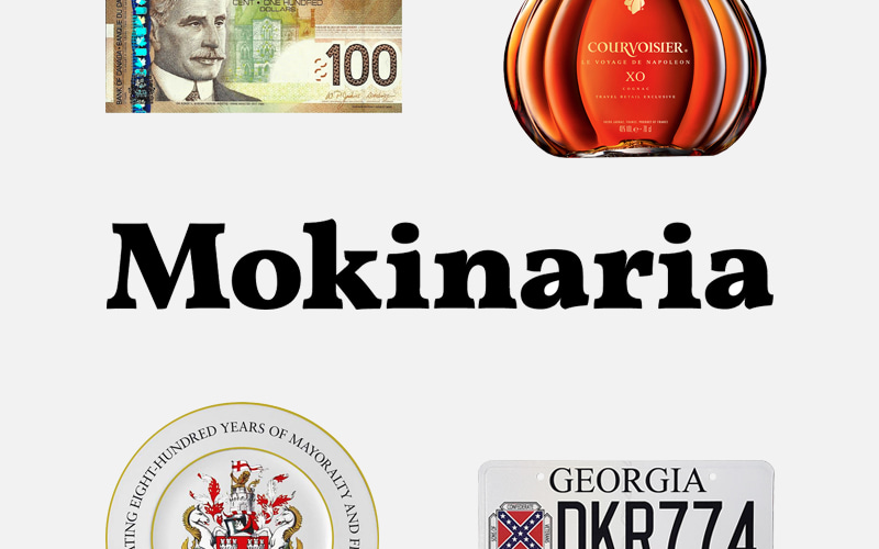 "Name, logo and website for the project ""Mokinaria"" — catalogue of the collection and blog of the traveler Andrey Mokin."