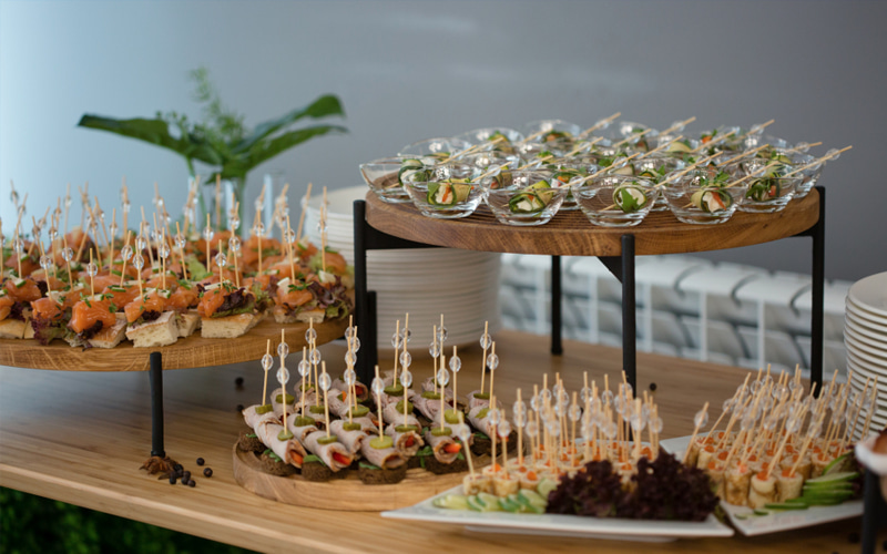 "Website of the catering service ""Olivia"" in Yekaterinburg"